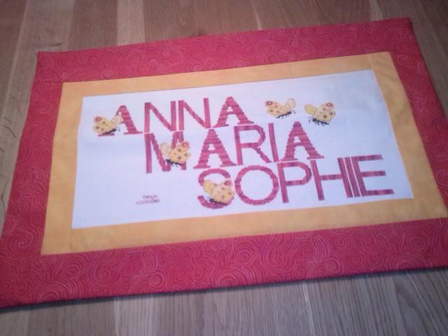 Kissen - Anna Maria Sophie