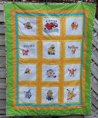 Quilt für JulienR. April-November 2016